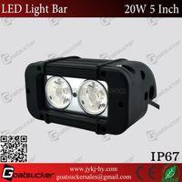 Super Bright 20w off road led light bar for truck, marine, jeep, suv