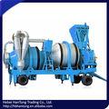 doble tambor de mezcla y el tipo de proceso por lotes de mezcla tipo móvil de asfalto planta de mezcla