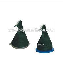 Sales to duckbilled flexible pressure EPDM black control slips with flange end