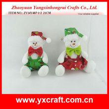 Christmas stuffed toy ZY14Y487-3-4 21CM christmas garland