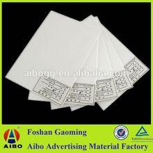 China manufacturer pvc fascia board for the concrete formwork