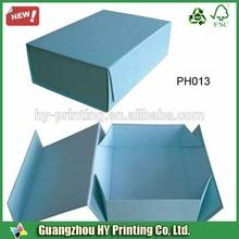 Most popular folding shoe box packaging