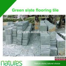 Green Slate Flooring Tile