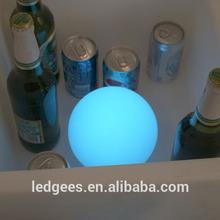 swimming pool led ball lighting/led ball waterproof /ball pen with led light