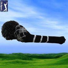 Hot-sell Jaquard logo golf head cover'