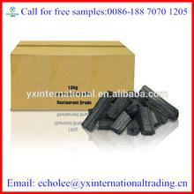 100% Natural bbq coal made by wood charcoal making machine