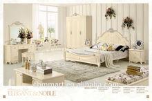 2015 new arrival child girl design bed bedroom sets