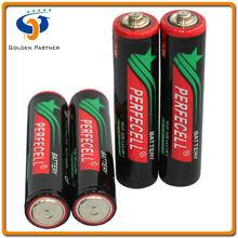 High capacity r03p aaa size baterias