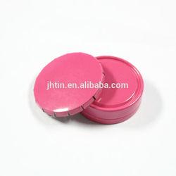 15ml click clack small pink gear box round cosmetic box