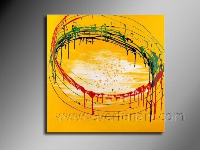 الفن الحديث قماش لوحات تجريدية بسيطة على قماش للزينة