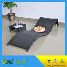 hot sale garden indoor use aluminium sun lounger