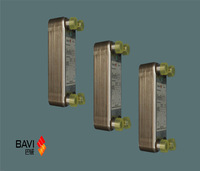 Steam Water/ Brazed Plate Heat Exchanger Price,BAVI Thin Corrugated Metal Heat Exchanger Plates