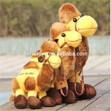 2014 new design birthday gift plush camel toy&baby plush toy