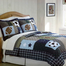 Fashion Boys Football-style Printed Baby Quilt