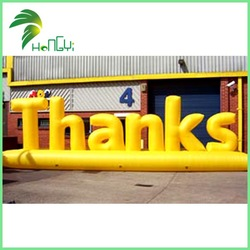 2014 Guangzhou Favorable Price Practical Lovely Inflatable Letter