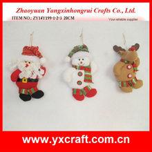 Christmas stuffed toy ZY14Y199-1-2-3 20CM handmade santa claus