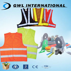 new design fashion colorful reflective safety jacket with reflector