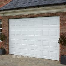 PPGI sectional garage door,PU inside garage door panel sale
