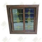 Wholesale branded wooden color upvc window and door 2014