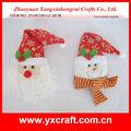 Ornamento de la navidad ZY14Y110-1-2 22 CM navidad sentía bolsa