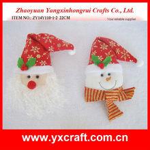 Christmas ornament ZY14Y110-1-2 22CM - christmas felt bag