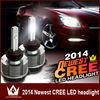 H4 H7 H16 9006 HB4N HB3 9005 LED Head Light 20W 12-24V 2400LM LED Headlight Conversion Car Kit