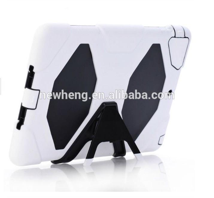 Silicone hybrid kickstand case for iPad mini