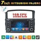 mitsubishi pajero car dvd player in dash 2 din with gps bluetooth iPod radio tv usb sd rear camera