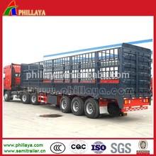 tri axle stake: animal transport semi trucks (size & platform optional)