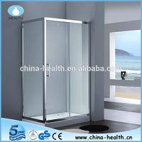 Shower sliding glass door