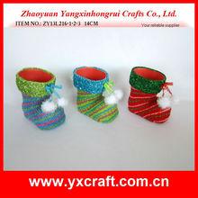 Christmas boot ZY13L216-1-2-3 14CM christmas art