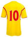 Camisa de futebol futebol jersey sublimação nome impresso, camisa da equipe de, sportswear
