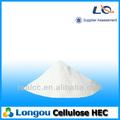 고품질의 화학 접착제 셀룰로오스 hec 히드 록시 에틸 셀룰로스 비슷한 건설 tylose