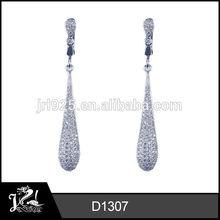 New design ladies rhinestone fashion earrings earring