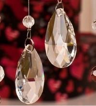 Free shipping 89pcs/lot 20mm ,2014 crystal trimming parts crystal chandelier parts ,crystal glass prism pendant