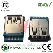 usb 3.0 female connector forMP3 player/digital video/camera/PDAs/GPS