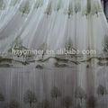 Baratos padrão de árvore de projeto da cortina de tecido, telas da cortina de design floral para venda