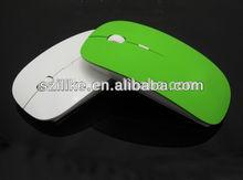 Beautiful slim style wireless PC mouse