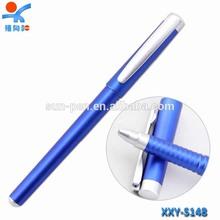 porcelain blue student plastic gel ink pen