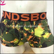 MSM14012 HOT 2014 sexy men cotton noctilucent underwear boxer
