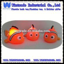 LED light up bath toy clown fish