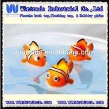 Flashing bath toy led clown fish