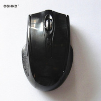 black color mouse wireless 6d wireless mouse usb optical wireless mouse