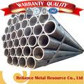 chino estándar de carbón costura recta de tubos de acero