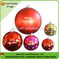 Bola de natal decoração de natal pendurado poliestireno bola ornamento