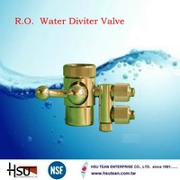 Brass maunal low pressure 2 way drinking inlet water valve