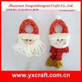 Natal cabide maçaneta zy13l319-1-2 25cm mini presentes de natal