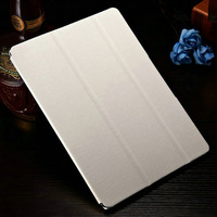 2014 Hot Product Innovations Black Brown Red White High Quality PU Leather Wallet Stand Waterproof Case for Ipad Air 5