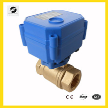 "9-24vDC 2 wires 3wires 1"" solenoid automatical shut off valve NPT thread for watert treatment,HVAC project"