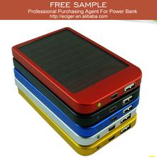 5000mah universal solar mobile phone charger